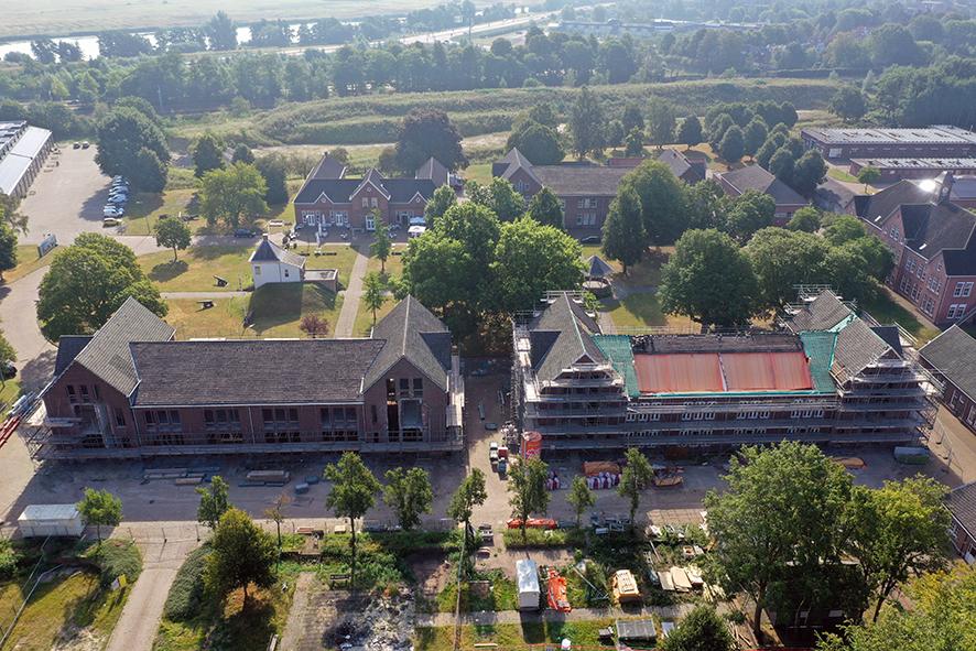 Gebouw 1 en 2 Fort Isabella